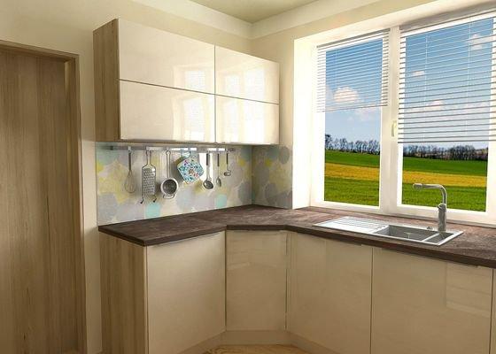 Vizualizace, návrh kuchyně