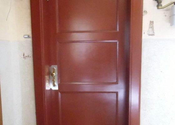 Vstupní dveře do bytu