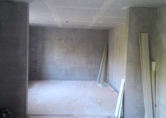 Oprava a zhotovení sádrokartonových podhledů a příček