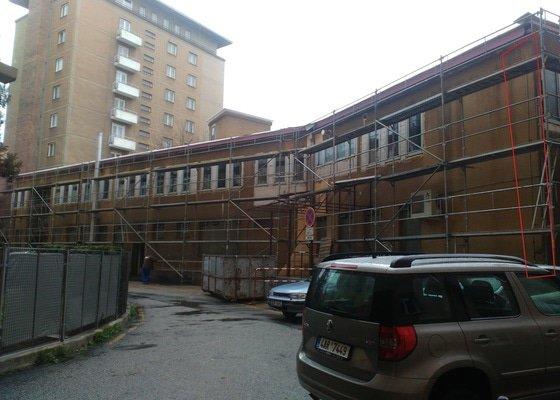 Zateplení bytového domu, Brno Úvoz
