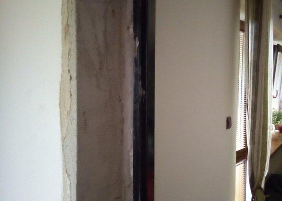 Montáž obložkové zárubně a 3 dveří