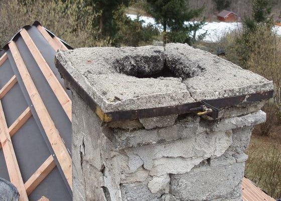 Rekonstrukce komína