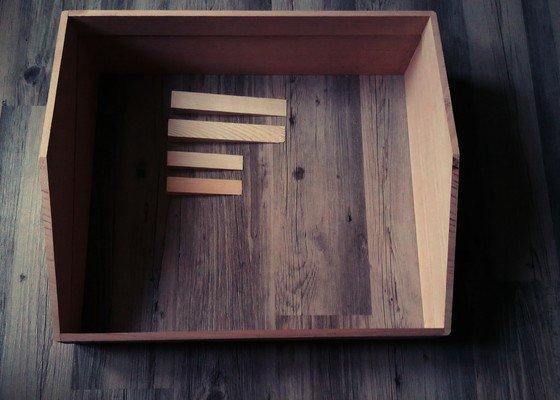 Truhlářské práce - výroba rámu kufru