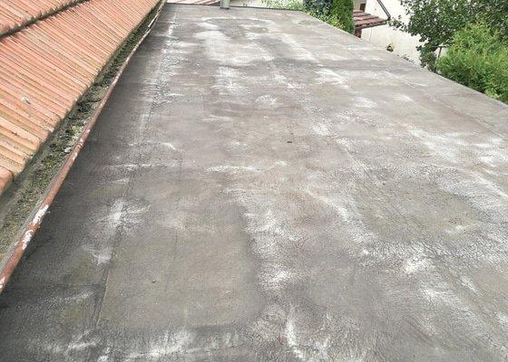 Oprava ploché střechy - nanesení nové hydroizolační vrstvy
