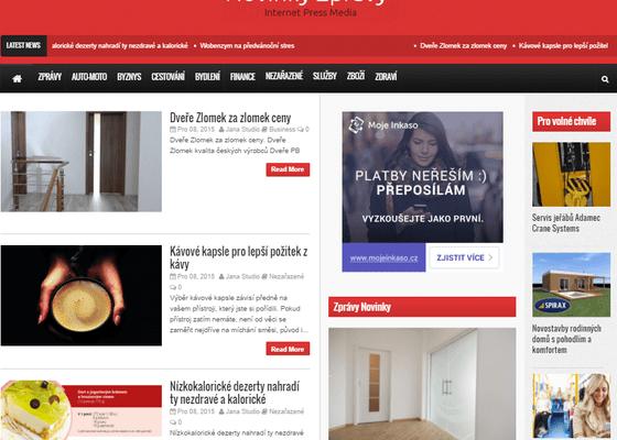 PR články - tvorba, publikace