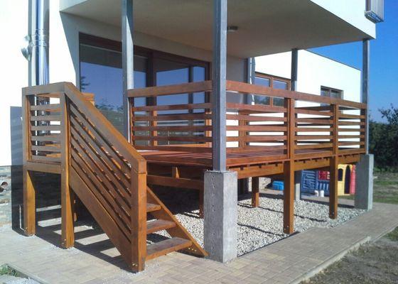 Výroba terasy