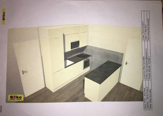 Příprava elektro rozvodů pro kuchyn