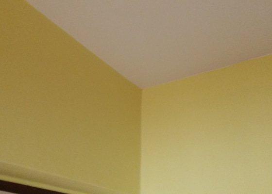 Oškrábáņí zdi,výmalba, položení plovoucí podlahy