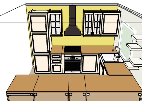 Montaz pracovni desky IKEA