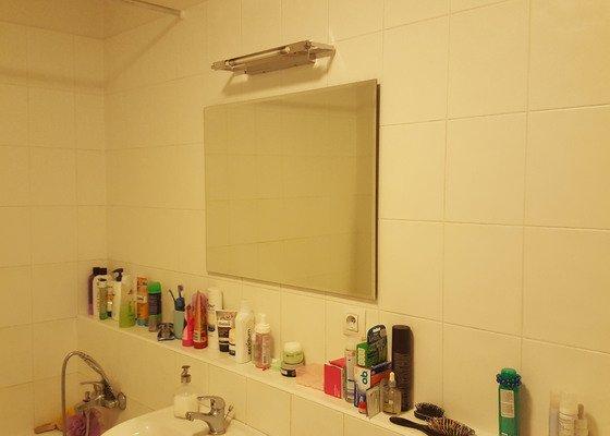 Montáž a upevnění koupelnové galerky s led osvětlením, montáž stropních svítidel
