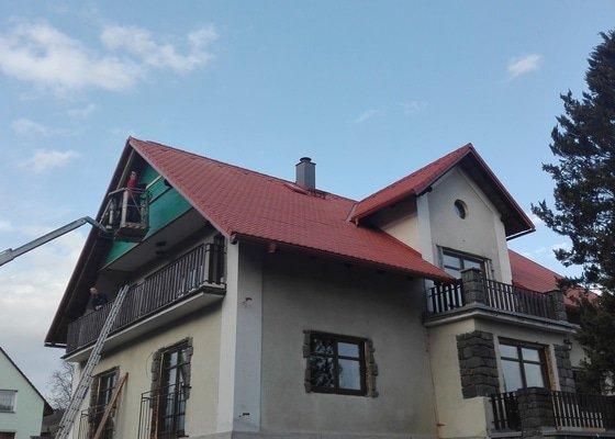 Rekonstrukce střechy Kraskov