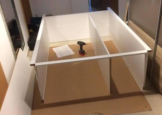 Odvoz nábytku a následná montáž u zákazníka