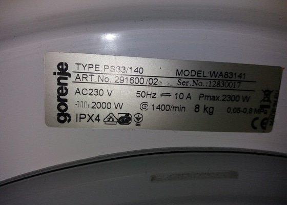 Výměna ložisek u pračky