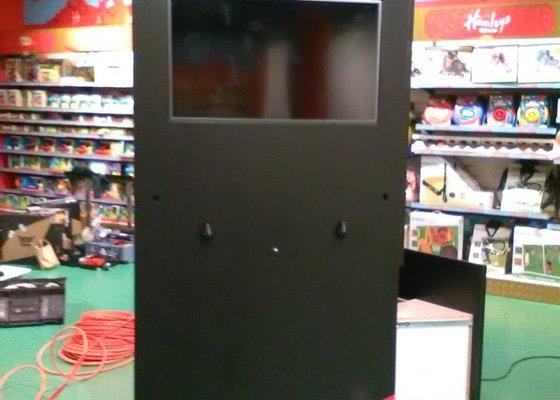 Výroba kiosků