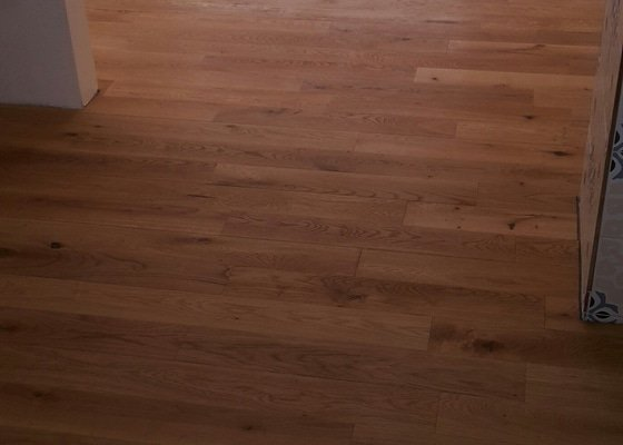 Pokládka podlah
