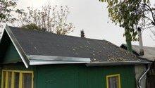 Rekonstrukce střechy zahradní chatky