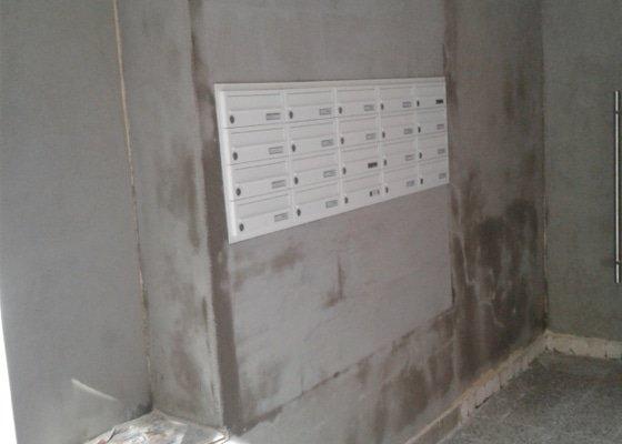 Rekonstrukce vstupních prostor BD Brno