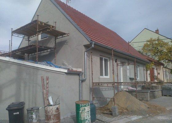 Zhotovení fasády Kobylí