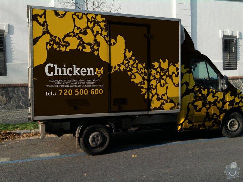 Polep 3 aut viz.příloha: Chicken_cz-AUTO-Pravy_bok-celo
