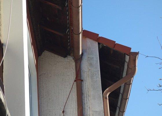Nater a drobne opravy podbiti strechy