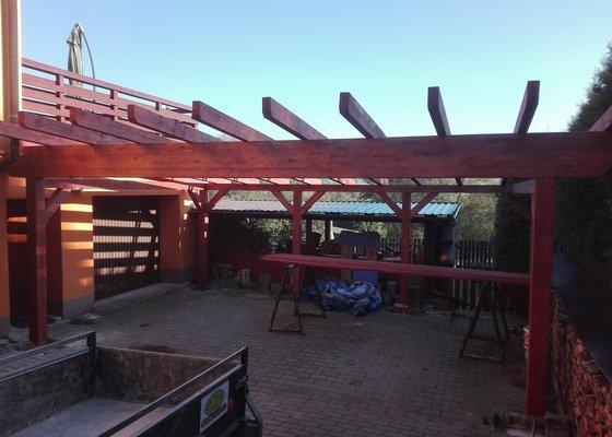 Stavba garážového stání