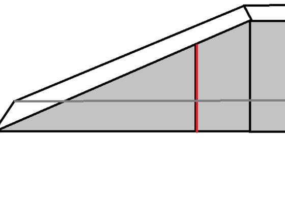 Přístřešek z TAVOKOVU, konstrukce pro přístřešek, 3 nerezové sloupy