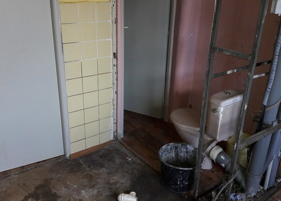 Rekonstrukce jádra v paneláku