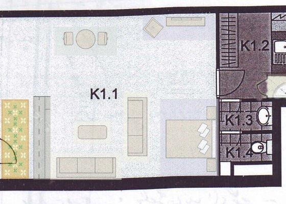 Přestavba atelieru na byt Praha 9 Prosek