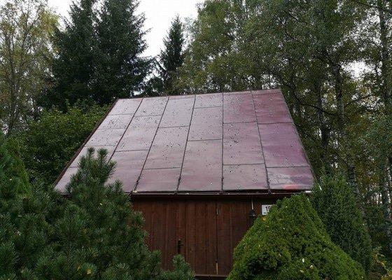 Nátěr plechové pozinkované střechy