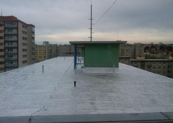Oprava krytiny ploché střechy