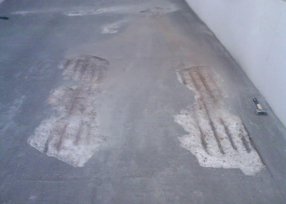 Oprava podlah podzemního parkování a dalších ploch