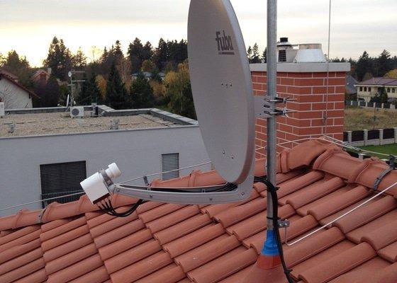 Naladění satelitu