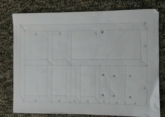 Vyroba a montaz vestavene skrine