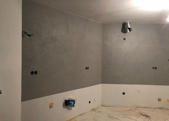 Betonové štěrky do kuchyně a koupelny