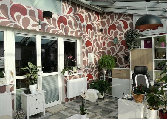 Dekorativní malba a polepy v interiéru