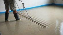 Anhydritová podlaha 90m2