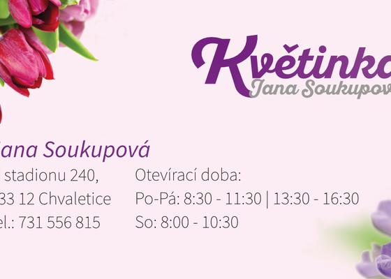 Vizitka Jana Soukupová