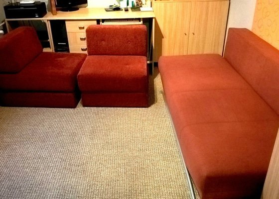 Čištění koberců a čalouněného nábytku