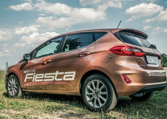 Reklama na nový Ford Fiesta