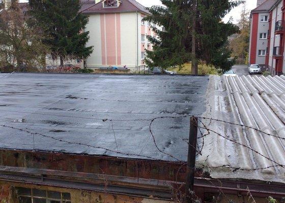 Oprava strechy garáže 20m2