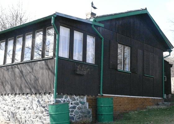 Částečná rekonstrukce chaty - koupelna