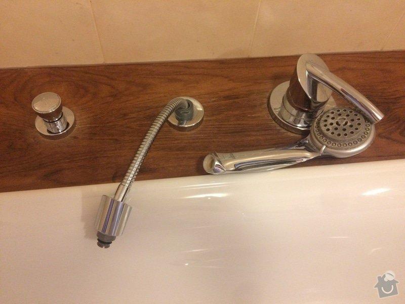 Hadice zavěsit sprchu