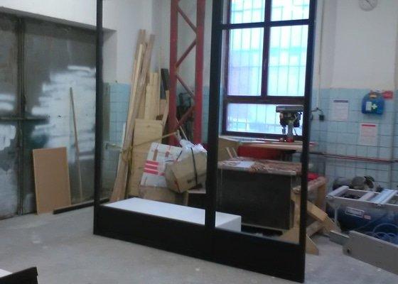 Vyroba drevene konstrukce-imitace kovu