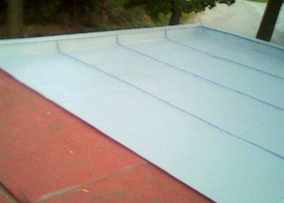 Potřebuji natřít plochou střechu garže, Lačnov