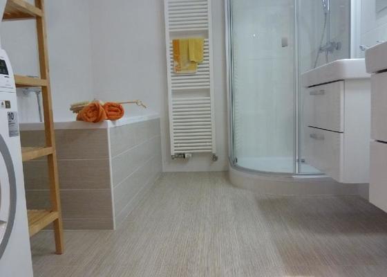 Rekonstrukce koupelny v novostavbě