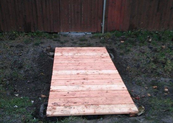 Realizace malého dřevěného mostku
