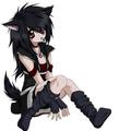 Anime vlčí dívka