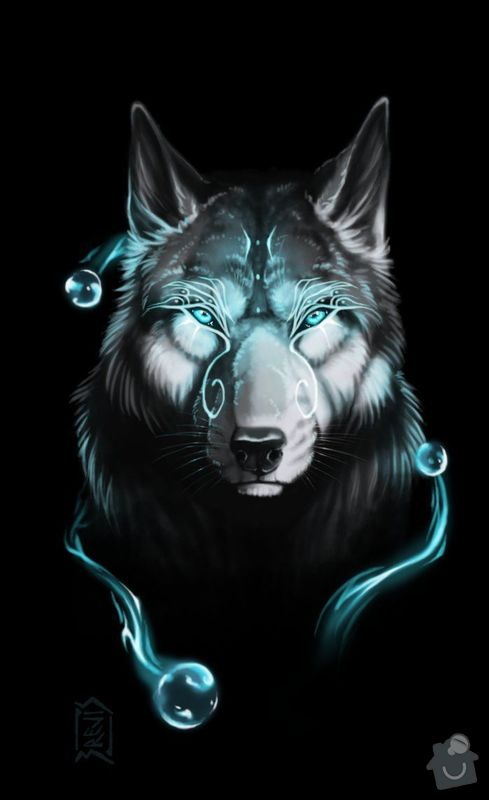 Potisk dvou tricek: Vlk