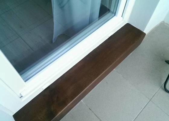 Truhlářské práce / práce se dřevem / úprava lodžie