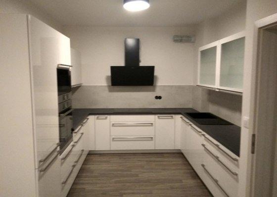 Realizace podhledu v kuchyni